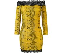 Kleid in Schlangenleder-Optik - women