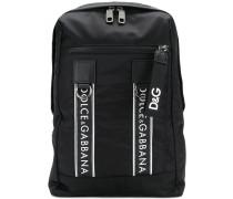 logo strap detailed backpack