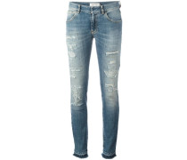 Distressed-Skinny-Jeans - women