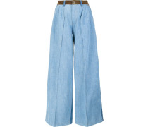 Dreifarbige Jeans