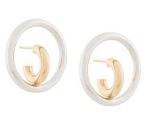 Mittelgroße 'Saturn Blow' Ohrringe
