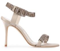 'Bashifa' Sandalen mit Kristallen
