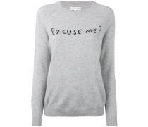 'Excuse Me' Kaschmirpullover