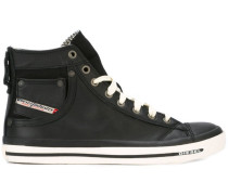 High-Top-Sneakers mit aufgesetzter Tasche