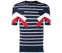 - Gestreiftes T-Shirt - men - Nylon/Viskose - S
