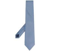 Krawatte mit Monogramm-Print