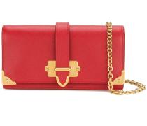 Mini Cahier clutch bag