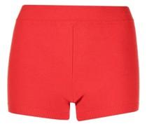 Gerippte Shorts
