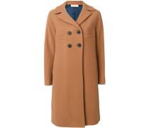 Klassischer Mantel mit schmaler Passform