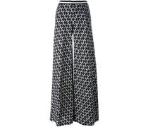 Palazzohose mit weitem Bein - women - Wolle - 38