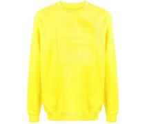 Sweatshirt mit erhöhtem Logo