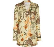 Soleia Pyjama mit Leoparden-Print