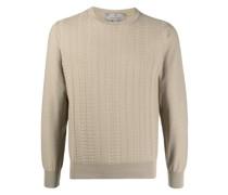 Sweatshirt mit geprägtem Muster