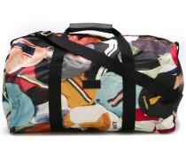 Reisetasche mit Kappen-Print