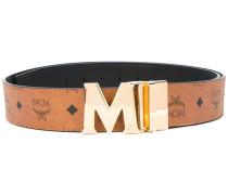 - logo belt - women - Leder - Einheitsgröße