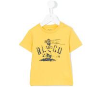 T-Shirt mit Logo-Print - kids - Baumwolle - 12