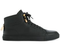 mid-top lock sneakers