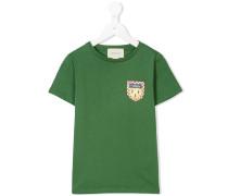 T-Shirt mit Wappen-Logo
