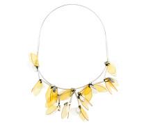 3D floral necklace