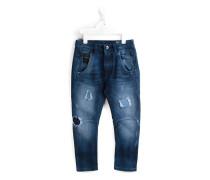 'Fayza' Jeans im Used-Look