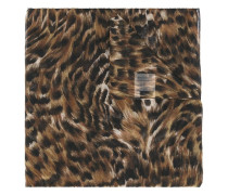 large 'Animalier' printed scarf