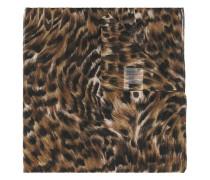 Großer 'Animalier' Schal mit Print