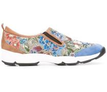 jacquard slip-on sneakers