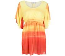 Kleid mit Farbverlauf-Streifen