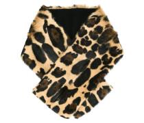 leopard print stole