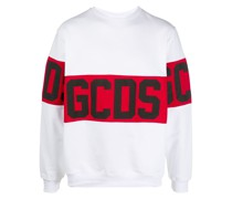 logo band cotton sweatshirt