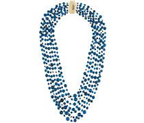 Halskette mit Quarzperlen