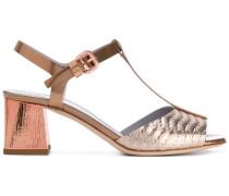 Sandalen mit Blockabsatz - women - Leder - 37