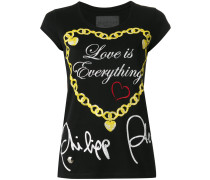 "T-Shirt mit ""Love Is Everything""-Print - women"
