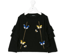 butterfly embroidered sweater