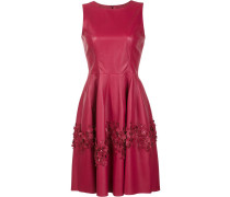 - Florales Kleid mit Laser-Cuts - women