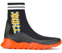 Black sock runner sneakers