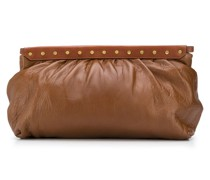 stud detailed lambskin clutch