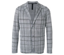 checked design jacket