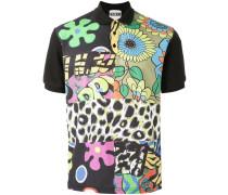 Poloshirt mit Print-Mix - men - Baumwolle - M