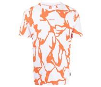 T-Shirt mit Orangutan-Print