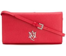'AMQ' Portemonnaie mit Riemen