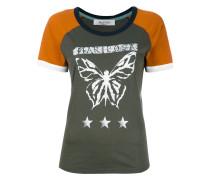 T-Shirt mit Schmetterlings-Print - women