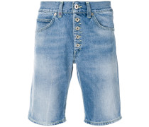 Jeans-Shorts in Washed-Optik