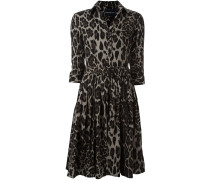 Hemdkleid mit Animal-Print