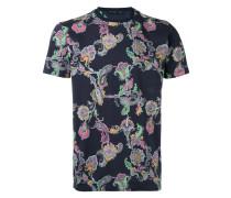 - T-Shirt mit floralem Print - men - Baumwolle - L