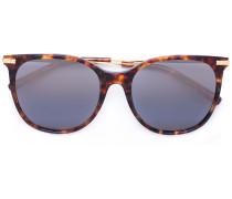 OversizedSonnenbrille in Schildpattoptik