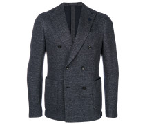 woven double breasted jacket