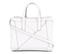 Handtasche mit geometrischem Motiv