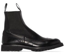 Henry perforated Chelsea boots