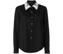 - Hemd mit besticktem Kragen - women